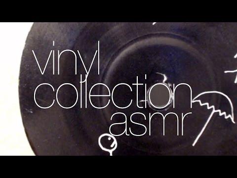 Vinyl Record Collection ASMR