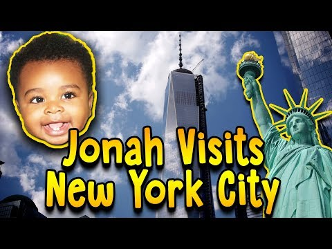 Freedom Tower, Central Park, NYC - Jonah's First Trip To NYC Pt. 1 - Jonah's Domain Ep. 5