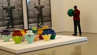 $1M Ai Weiwei Vase Destroyed in Protest
