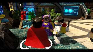 Hall of Justice Hub All Collectibles - LEGO Batman 3: Beyond Gotham