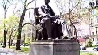 William Lloyd Garrison statue Commonwealth Avenue Boston MA