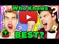 Who's the KING of Internet Trivia? | Ultimate YouTuber Quiz Challenge Ft. Joey Graceffa