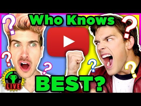 Who's the KING of Internet Trivia?   Ultimate YouTuber Quiz Challenge Ft. Joey Graceffa