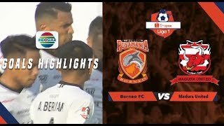 Borneo FC (2) vs Madura United (1) - Goal Highlights | Shopee Liga 1