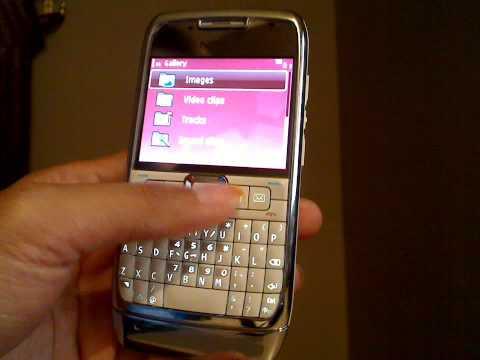 Nokia E71 White