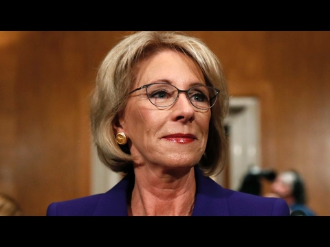 Historic Vote Confirms Betsy DeVos