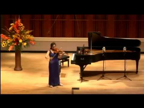 Ji Young LIM - N.Paganini  Caprices No.2 for Solo Violin , Op. 1