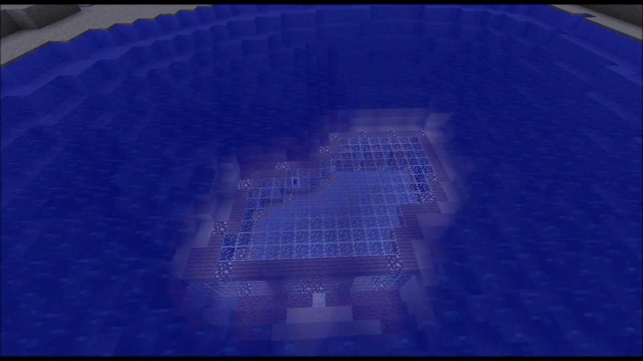 how to make a water base in minecraft