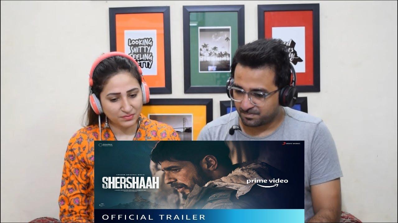 Pakistani Reacts to Shershaah - Official Trailer   Vishnu Varadhan   Sidharth Malhotra, Kiara Advani