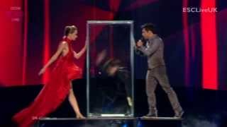 "[BBC] Eurovision 2013 (Semi Final 2): Azerbaijan: Farid Mammadov - ""Hold Me"""