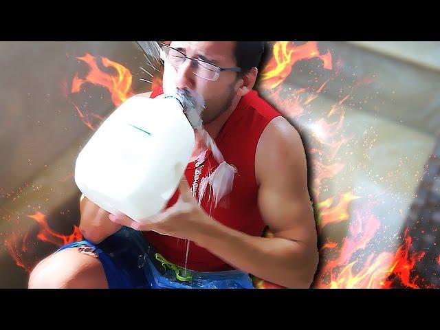 MARKIPLIER EATS 13 HABANEROS + ICE BATH   Fire and Ice Challenge