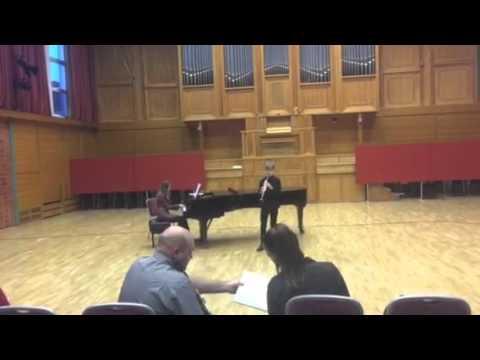 Berkó Domi - XIII Országos klarinétverseny 2 Forduló