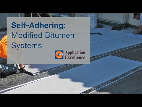 Garland Roofing: Applying Self-Adhering Modified Bitumen System