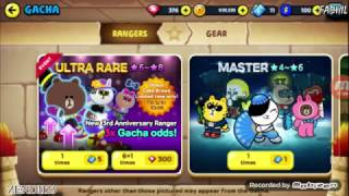 Line Ranger - 3rd Anniversary - Gacha Pake Akun Temen :v #2