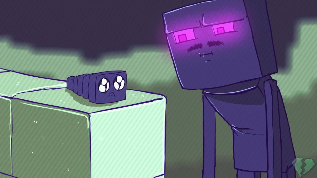 Endermen Hate Endermites Youtube