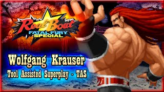 【TAS】REAL BOUT FATAL FURY SPECIAL - WOLFGANG KRAUSER (WITH RED LIFE)
