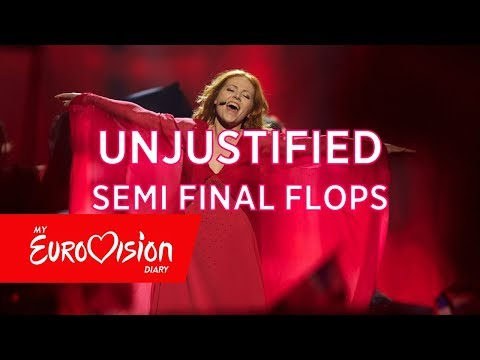 Eurovision | Undeserved Semi Final Flops For Each Year (2008 - 2017)
