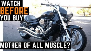 Watch BEFORE You Buy! 0-60 mph Suzuki Boulevard M109R Ride, Review, Impressions, Best Muscle Bike?