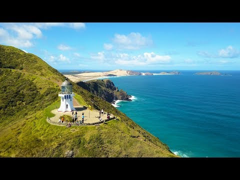 Cape Reinga the NORTHERNMOST point in New Zealand