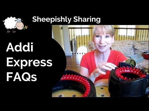 addi express knitting machine socks