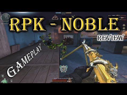 Crossfire NA: RPK-Noble Beast vs RPK-VIP + Gameplay