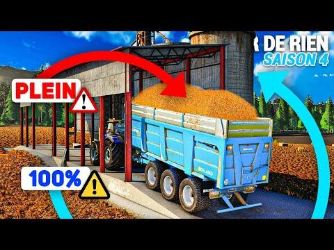 Rendement INCROYABLE, SILO PLEIN !   Partir De Rien S4 #49 (Farming Simulator 19)