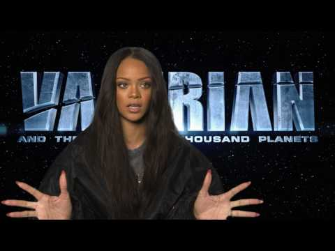 Meet Bubble: Rihanna Talks Valerian