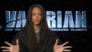 Meet Bubble: Rihanna Talks Valerian