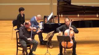 Mozart : Piano Trio in C Major, K.548, Kusatsu Academy(弦が切れるハプニングあり)