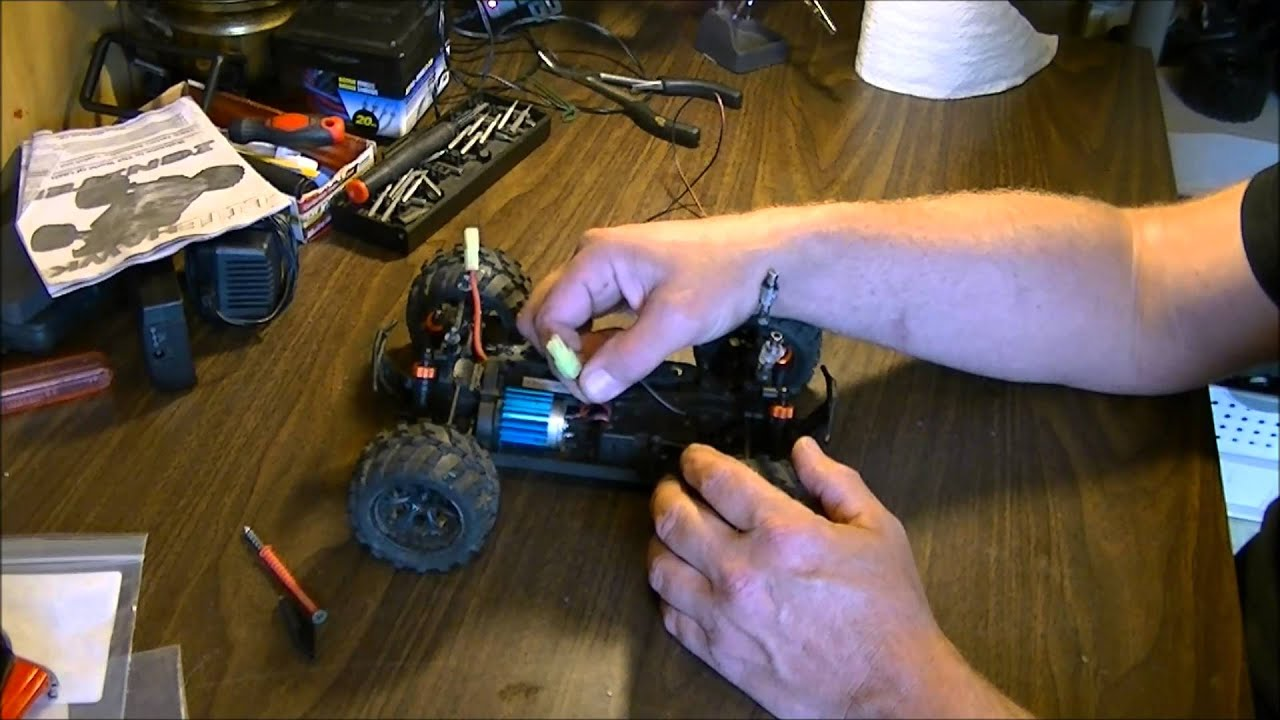 Wiring Rc Cars Reinvent Your Diagram Servo How To Wire A Fan An Car Motor Youtube Rh Com