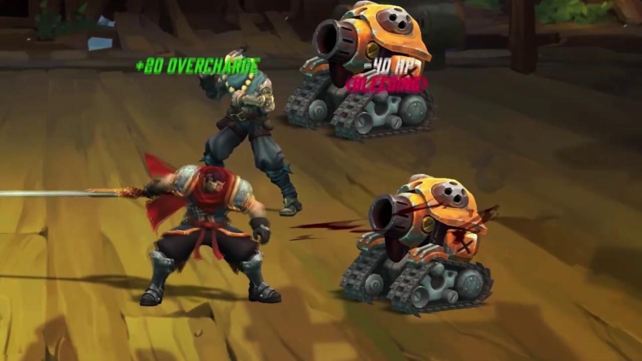 Battle Chasers Nightwar - Un JRPG captivant dans un univers BD ! (Nintendo Switch)