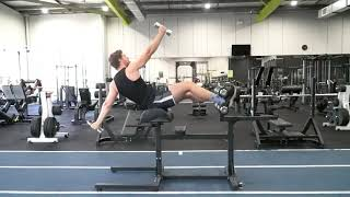 Suspended Bench Rips