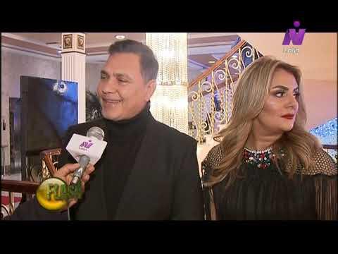 محمد رياض مع زوجته رانيا محمود ياسين تكريمي من النيل للدراما بمسلسل رحيم أسعدني جدا Youtube