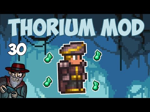 Terraria # 30 This Bard Class is Insane! - 1.3.5 Thorium Mod Let's Play