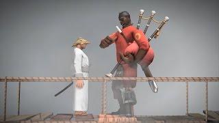 [SFM] Samurai Soldier meets the Scotsman