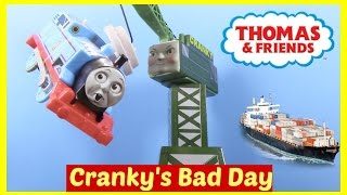 Thomas and Friends Accidents Will Happen Cranky's Bad Day Toy Trains Thomas the Tank Engine thumbnail