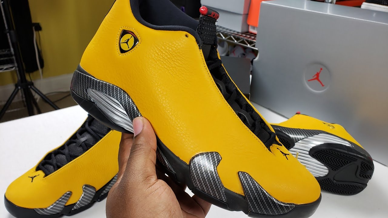 best sneakers 0879f 04e5f #ferrari #jordan14 #jumpman FIRST LOOK - AIR JORDAN 14 RETRO