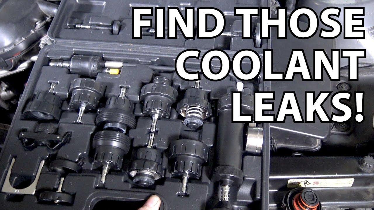 a better way to diagnose a coolant leak on an e46 bmw  [ 1280 x 720 Pixel ]