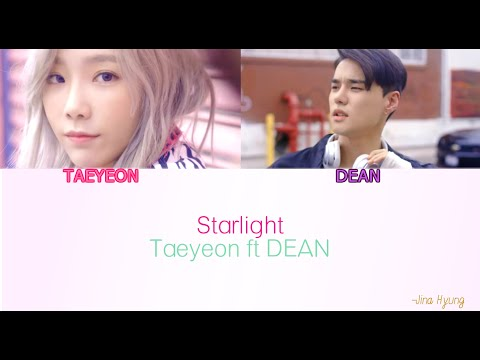Taeyeon starlight Easy lyrics Ft Dean