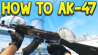 HOW TO: Control the AK-47 Recoil (NOOB EDITION) CS:GO