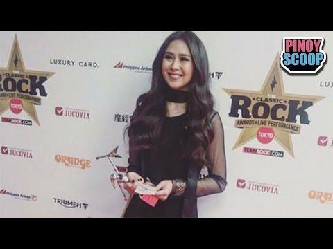 Sarah Geronimo Wins Best Asian Performer Award At The 2016 Classic Rock Awards In Japan