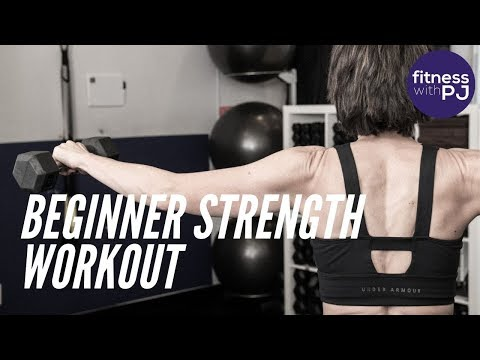 Total Body Strength Workout for Beginners (Pt 1 of my Beginners Series)