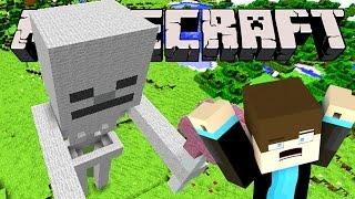 giant skeleton ate me? minecraft giant mobs series 02