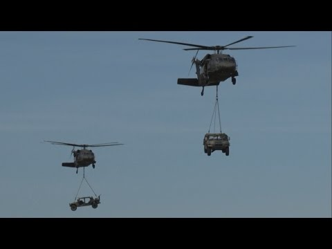 2017 Rhode Island ANG Open House & Airshow - Combined Arms Demonstration