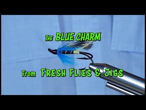 THE BLUE CHARM HAIR WING (Canadian East Coast Classic)