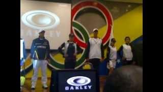 Uniformidad delegación de Venezuela para los Juegos Olímpicos Londres 2012.3GP
