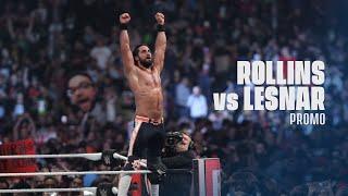 Seth Rollins Vs Brock Lesnar | Wrestlemania 35 Hype Promo