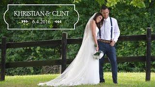 Khristian + Clint | Kentucky Wedding Video