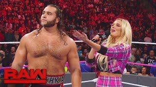 Rusev stellt dem WWE-Universum seine Familie vor: Raw, 17. Oktober 2016