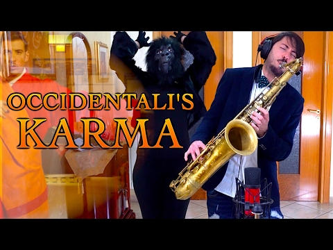OCCIDENTALI'S KARMA - Francesco Gabbani (SANREMO 2017) Cover Sax